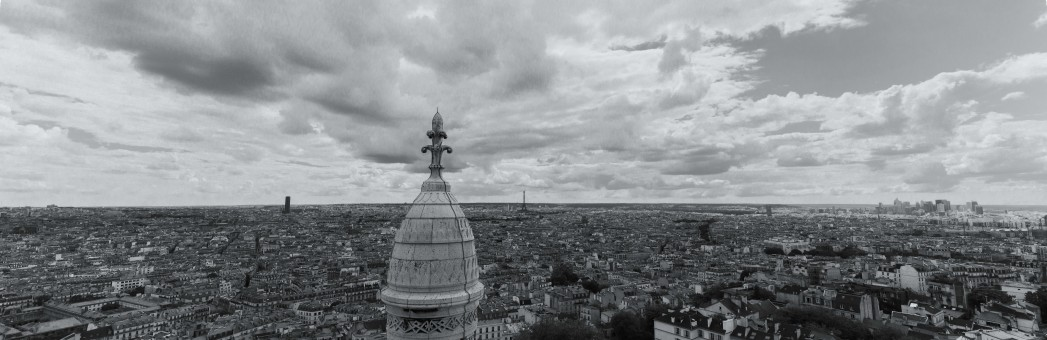 View from Sacra-Coeur, Paris